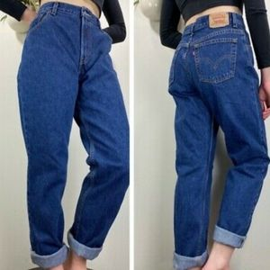 Levi's 550 Relaxed Tapered Leg Mom Jeans Sz 22W